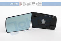 Зеркальный элемент зеркала заднего вида, левого (с обогревом, плоское, голубое)  на Mercedes-Benz W140, S210