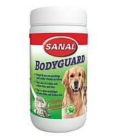 Пищевая добавка Sanal Dog Bodyguard «с чесноком» от блох и клещей 250 грамм