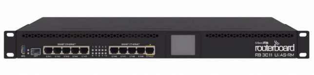 Роутер Mikrotik RB 3011UIAS-RM - Интернет-магазин сетевого оборудования WiFi-LiFe в Днепре