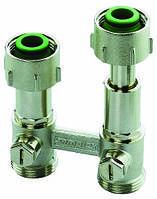 """Телескопические узлы подключения для двухтрубных систем для радиаторов типа ET2/50 угловой, 3/4""""BPx3/4""""HP"""