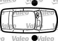 Личинки замков, комплект VALEO 252151, 9170E7; YSM 5PG04 на Peugeot 306