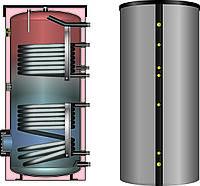 Водонагреватели с двумя теплообменниками и съёмной изоляцией SSH 400 л