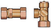 """Группа для подключения теплового насоса к системе отопления через буферную ёмкость, 1"""" с насосом Grundfos Alfa 2L 25-60"""