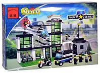 Конструктор BRICK 110 Полицейская база