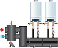 Подключение гидрострелка/коллектор Dn 100/80 до 440 кВт