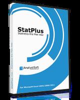 StatPlus:mac 6.1 (AnalystSoft Inc.)