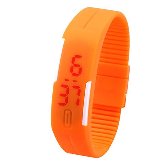 Спортивные силиконовые водонепроницаемые наручные LED часы - браслет 2Нет в наличии