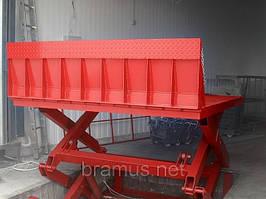 Стол подъемный Docker ножничный 2500х1500мм, ход 1,8м / Lift platform Docker scissor 2500х1500mm