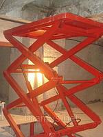 Подъемник гидравлический Docker 2500х1500мм, ход 3,5м / Lift platform Docker scissor 2500х1500mm, фото 1