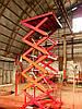Подъемник гидравлический Docker 1500х1500мм, ход 4м / Lift platform Docker scissor 1500х1500mm