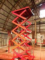 Подъемник гидравлический Docker 1500х1500мм, ход 4м / Lift platform Docker scissor 1500х1500mm, фото 1