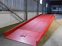 Рампа мобильная Docker 6т 2100х7000мм механическая / Mobile ramp Docker 2100х7000mm mechanical, фото 1