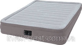 Intex 67770 надувная кровать Comfort Plush Mid Rise Airbed 203x152x33см