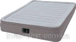 Intex 67770 надувная кровать Comfort Plush Mid Rise Airbed 203x152x33см, фото 2