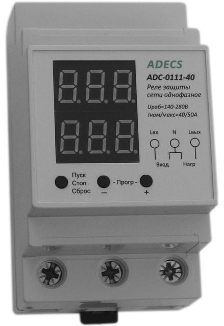 Реле напряжения ADECS ADC-0111 (40А)