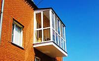 Купить балкон французский металлопластиковый в Херсоне