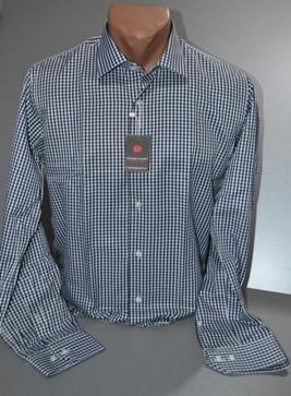 Мужская рубашка приталенная GUISEPPE GENTILE (размер S)