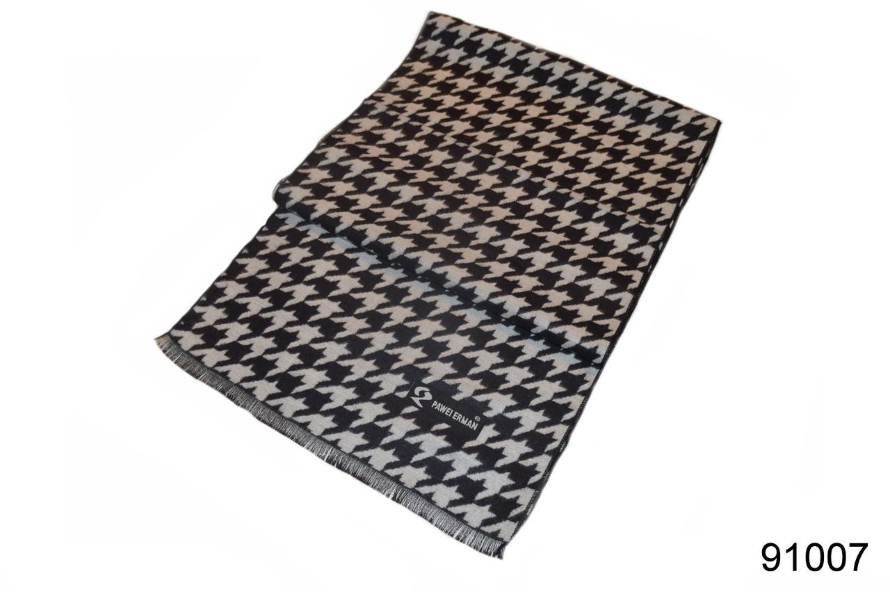 Мужской кашемировый шарф арафатка, фото 1