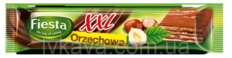 Шоколадные  вафли Fiesta XXL orzechowa, 50 гр, фото 2