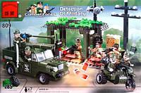 Конструктор Военная база 809 BRICK