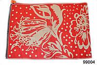 Кашемировый палантин Жар-птица красный, фото 1