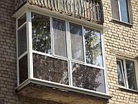 Продажа и  монтаж балконов металлопластиковых в Херсоне