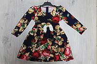 Платье Украиночка для девочки рост 92,98,104,110