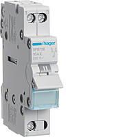 Переключатель трехпозиционный Hager SFТ140 (230В/40А)