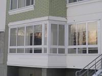 Заказать балкон металлопластиковый с доставкой и монтажом в Херсоне