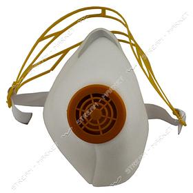 Респиратор У-2К высший сорт (ЯК-Ж) белый цвет, наголовник пластик DR-0002
