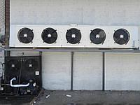 Воздухоохлаждающая холодильная установка Q=16кВт tкам=-5С