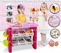 Игровой набор Магазин 668-01 Супермаркет с тележкой и продуктами