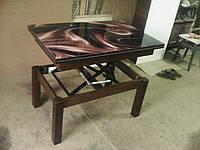 """Стол трансформер """"Флай"""" Венге магия Шоколад (Микс Мебель), фото 1"""