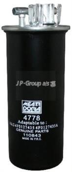 Фильтр топлива Ауди А6 /.AUDI A6 2,7 / 3,0TDI  от 2004- JP GROUP 1118703800 Дания