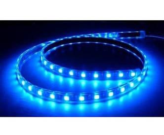 Светодиодная лента синяя (LED лента, неон) SMD 3528, 5м, синяя