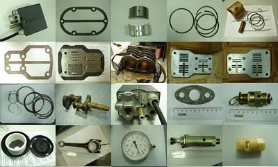 Запчасти на компрессоры и пневмоинструмент
