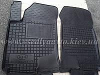 Передние коврики KIA Cerato l до 2010 г. (AVTO-GUMM)