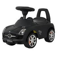 Машинка-каталка Bambi  Mercedes-Benz Z 332 S-2, черная. Автопокраска