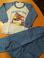 Пижама детская на баечке для мальчика 104 размер