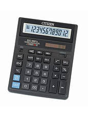 Калькулятор Citizen SDC-888XBK бухгалтерский 12р, фото 3