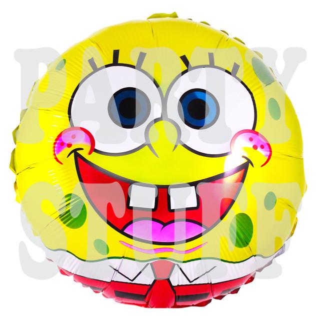 шарик фольгированный Губка Боб