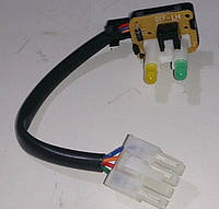 Кнопочный переключатель в сборе Ланос GM Корея (ориг) 759254