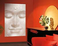 Фотообои из плотной полуглянцевой бумаги на стену: Улыбающийся Будда, размер 175*115 см
