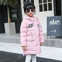 Зимняя куртка для девочки на пуху. 120р., фото 1