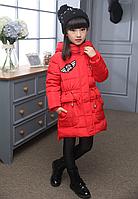 Зимняя куртка для девочки на пуху.140,150р.