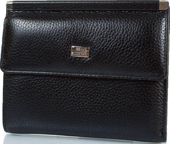 Жіночий шкіряний гаманець Desisan Shi105-011 чорний