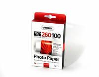 Фотобумага Videx глянцевая ( формат 10х15 см, плотность 260 г/м2 односторонняя глянцевая ) 100 листов