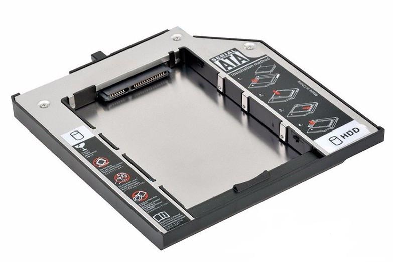 Оптибей SSD HDD кейс карман Optibay 9,5мм #100078