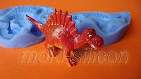 """Силиконовый молд 3Д """"Динозавр 4"""""""