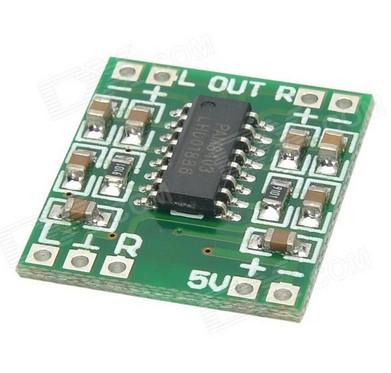 Схема усилителяPAM8403 2*3Вт #100130